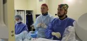 Онлайн трансляция из операционной: рентгенохирурги МГКБ провели сложную операцию